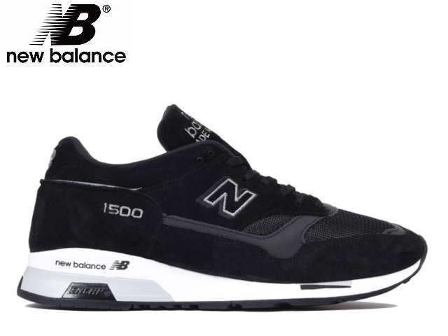 ニューバランス 1500 newbalance M1500 JKK ブラック/グレー Made in UK Mens メンズ スニーカー イングランド製【送料無料!】【あす楽対応】【店頭受取対応商品】