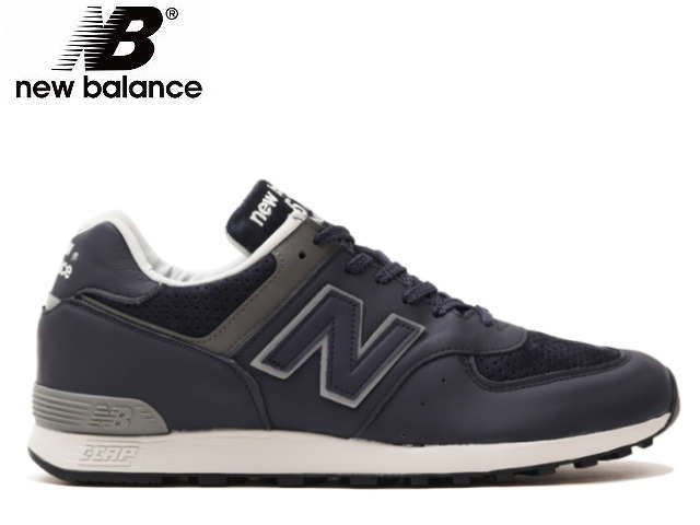 Product made in New Balance 576 uk leather blue newbalance New Balance M576 GBB BLUE men sneakers Made in ENGLAND U.K.