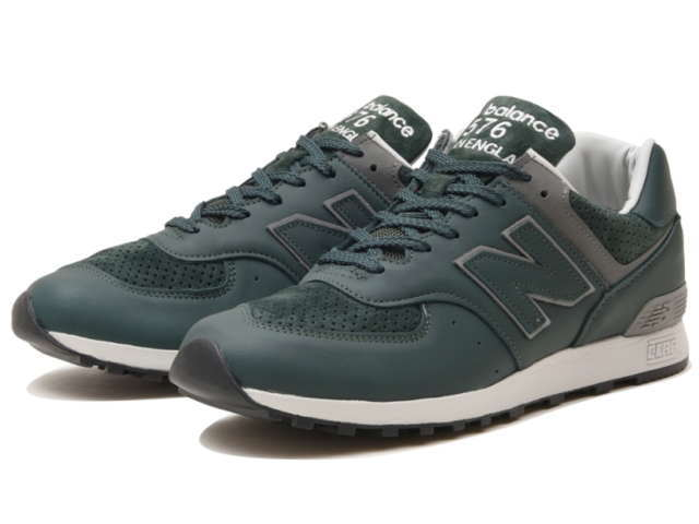 f50661bc69e367 Face to Face: Product made in New Balance 576 uk leather green ...