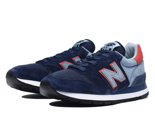 52fc6b66af Made in USA sneakers made in the New Balance 995 navy men M995 CJA NAVY  newbalance United States