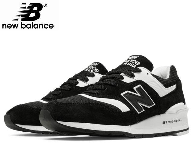ニューバランス 997 new balance メンズ M997 BBK ブラック/ホワイト made in USA men's sneaker newbalance メンズ スニーカー【送料無料!】【あす楽対応】【店頭受取対応商品】