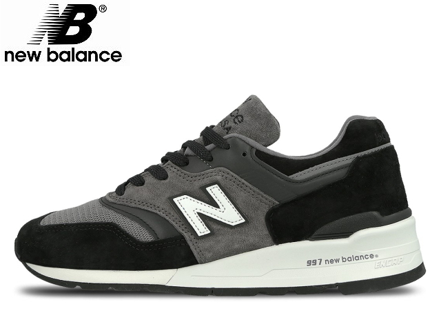 info for 4e50b e2d50 New Balance 997 new balance men M997 CUR black / gray made in USA men's  sneaker newbalance men sneakers