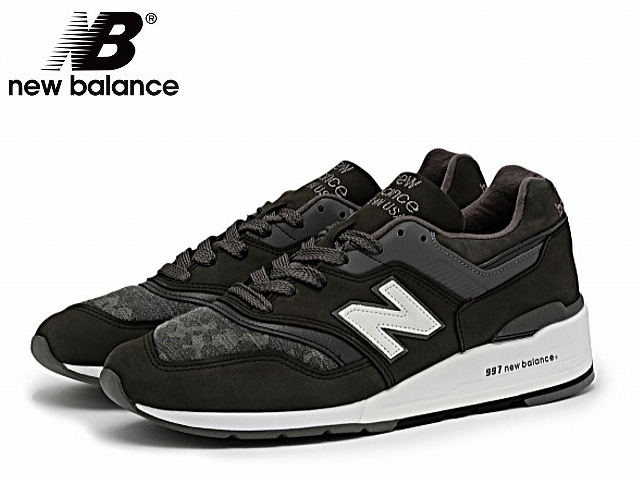 designer fashion 8888d 12da6 New Balance 997 new balance men M997D PA BLACK Ho Win leather made in USA  men's sneaker newbalance men sneakers