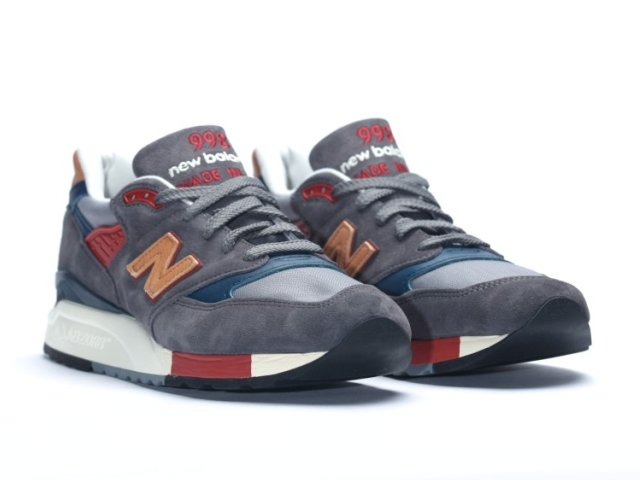 separation shoes ed205 11f2b New Balance 998 navy newbalance men M998 DBR navy / tongue made in USA  men's sneaker men sneakers