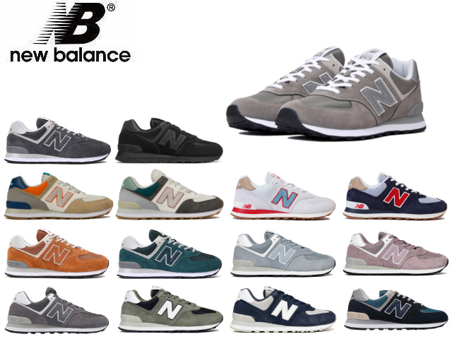 low priced 7dca4 c1e62 New Balance 574 men's lady's ML574 EGG EPE EPH EPF ESS ESK ESO ESN ESQ ESP  PTR NCB ETE NFT NFU newbalance sneakers black gray wine red