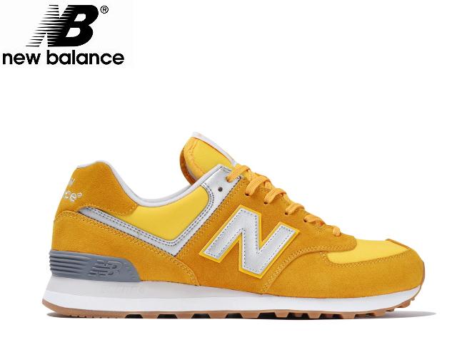 新平衡574黄色女士人ML574 HRK YELLOW newbalance运动鞋