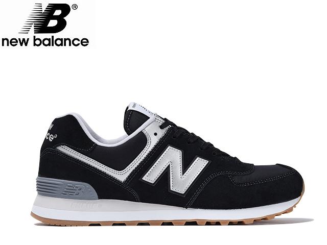 New Balance 574 Svart Og Hvitt 8K7RxBwAvr