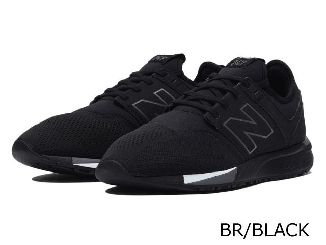 new balance 247 mens black