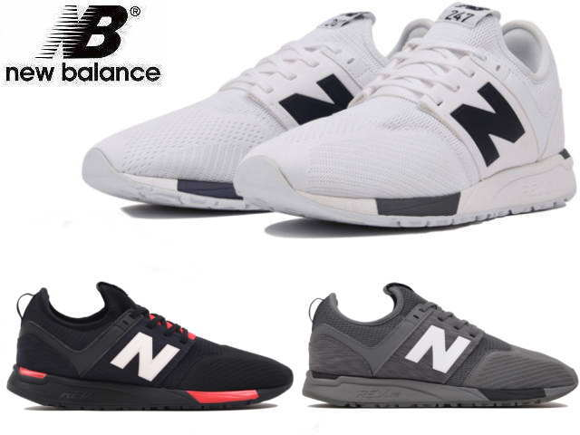 New Balance 247 lady's men's MRL247 BC WG CB black white gray newbalance sneakers