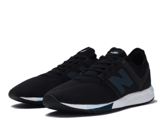 new balance sneakers for men black