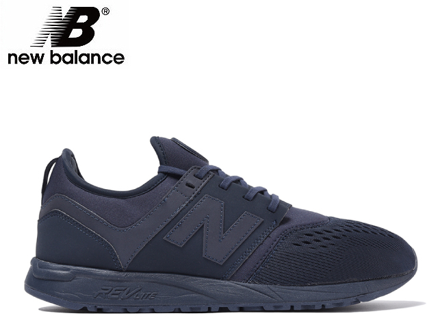 new balance 247 black leather