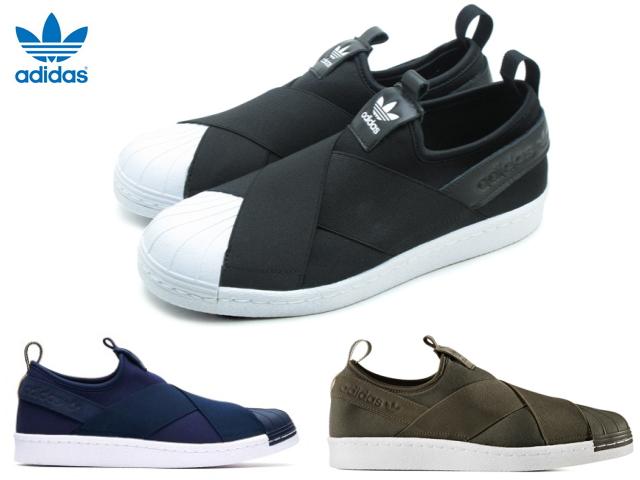 detailed look 30eef 88a7d Adidas superstar slip-ons Lady's black ADIDAS SS Slip On W S81337 slip-ons  sneakers sneaker