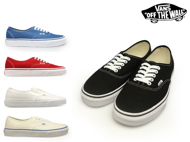 vans authentic men