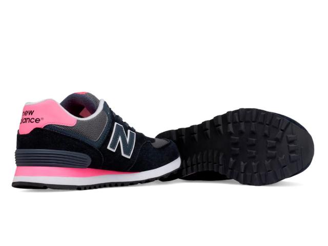 Nuevo Equilibrio Wl574 Negro / Rosa BkC1W