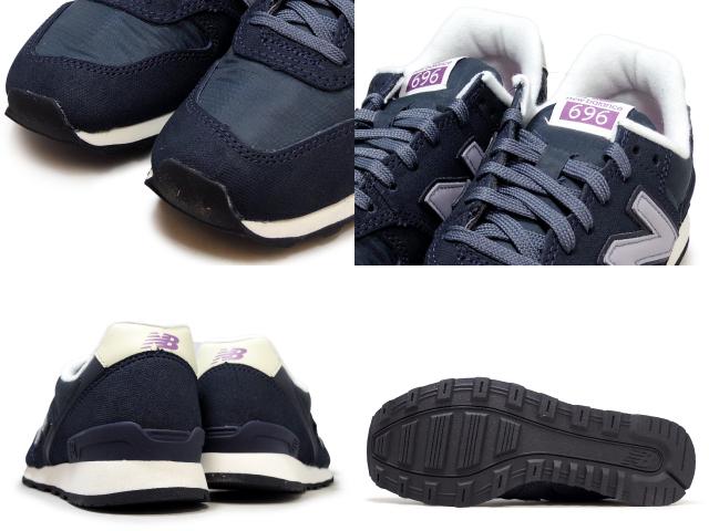newest e38f8 b2344 New Balance 696 navy Lady's new balance WR696 VCA NAVY Lady's sneakers  newbalance