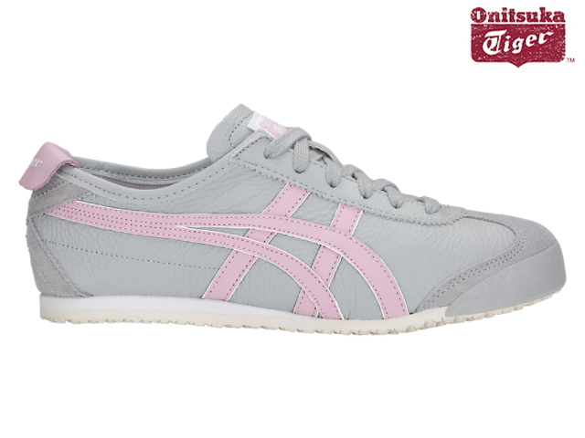 purchase cheap 12585 e15a6 Onitsuka tiger Mexico 66 sneakers Lady's Onitsuka Tiger MEXICO 66 020 MID  GREY/ROSE WATER Lady's standard sneaker