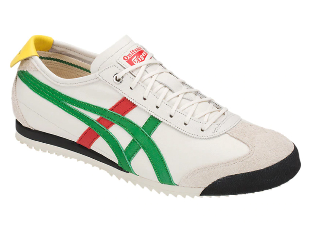 quality design 91dd2 05e29 Onitsuka tiger Mexico 66 SD sneakers men Onitsuka Tiger MEXICO 66 SD 100  CREAM/GREEN white / green sneaker