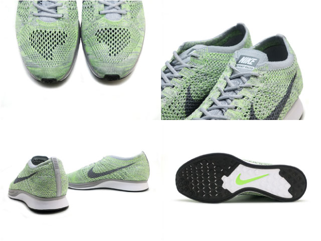 a11ad6a4be71d Face to Face  Nike NIKE fly knit racer macaroon pack green NIKE ...