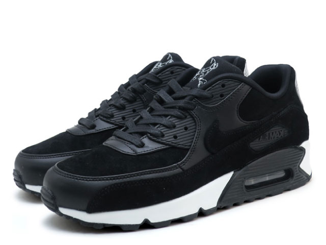 Nike NIKE Air Max 90 premium level scull black AIR MAX 90 PREMIUM REBEL SKULLS 700,155 009 sneakers sneaker