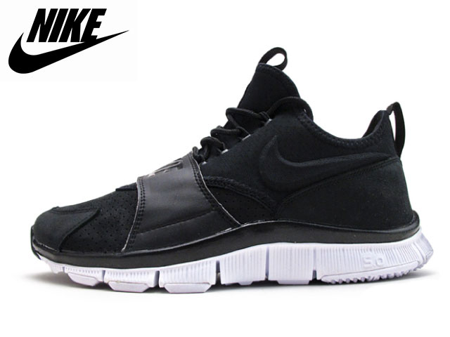 factory authentic 2ab7d efaa7 Nike NIKE-free ace leather black white FREE ACE LETHR men sneakers