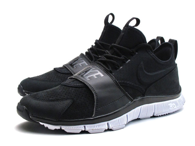 factory authentic 24d19 83d84 Nike NIKE-free ace leather black white FREE ACE LETHR men sneakers