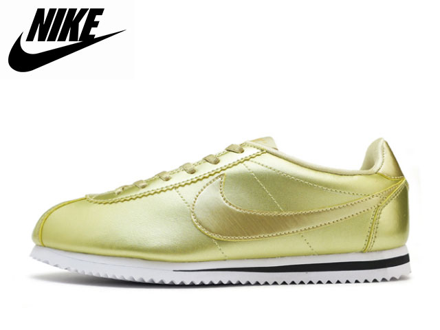 318c42968f0233 Face to Face  Nike NIKE コルテッツ SE GS gold CORTEZ SE GS 859