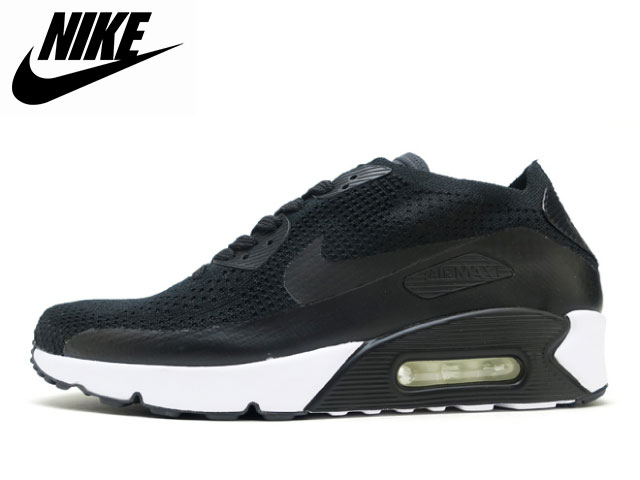 150ee6c60a9d Face to Face  Nike NIKE Air Max 90 ultra 2.0 fly knit black AIR MAX ...