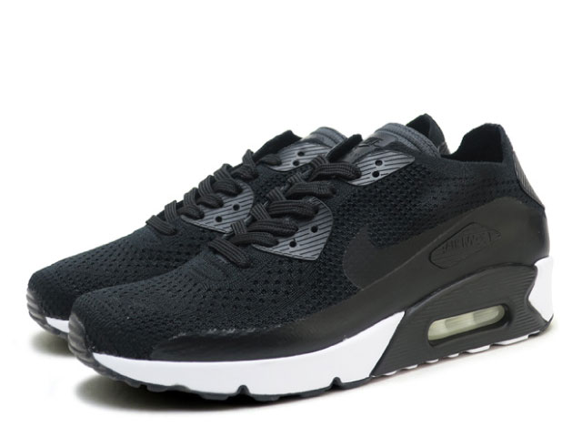 Nike NIKE Air Max 90 ultra 2.0 fly knit black AIR MAX 90 ULTRA 2.0 FLYKNIT 875,943 004 sneakers sneaker