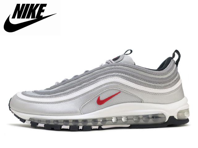 476d8ac0b65 Nike NIKE Air Max 97 metallic silver OG QS AIR MAX 97 OG QS 884,421-001  sneakers sneaker
