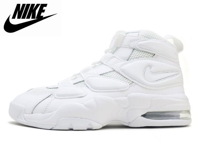 8428d86cb3 Face to Face: Nike NIKE Air Max 2 up tempo 94 white AIR MAX 2 ...