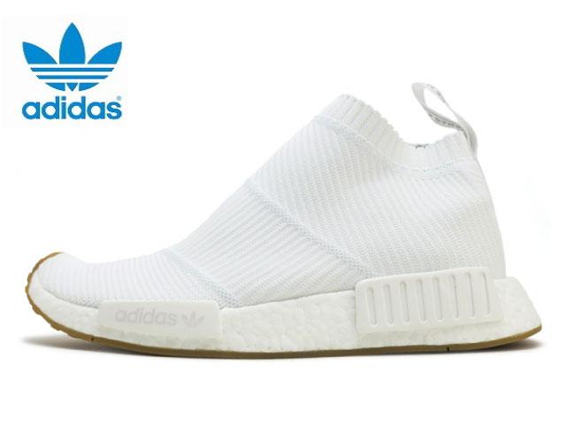 Adidas N M D NMD CS1 PK シティソックプライムニットメンズホワイトガム adidas ORIGINALS BA7208 sneakers sneaker