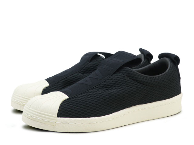super popular e5c7b 8cf75 Adidas superstar slip-ons BW35 Lady's black ADIDAS SS Slip On W BY9137  slip-ons sneakers sneaker