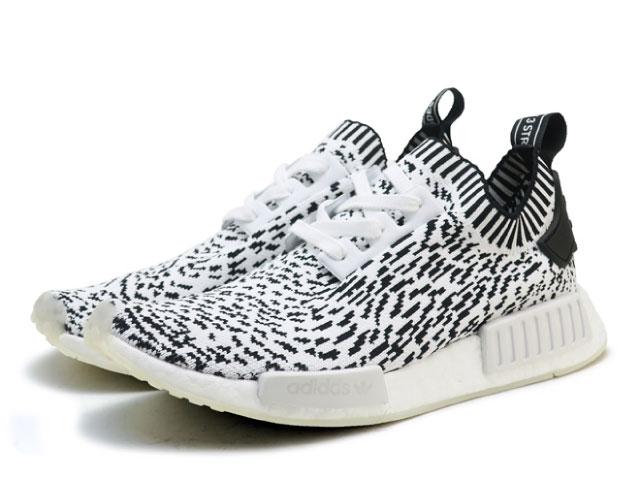 e551cda182592 Face to Face  Adidas N M D NMD R1 PK men white black adidas ...