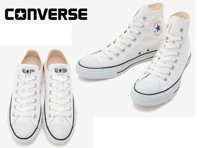 コンバース オールスター CONVERSE CANVAS ALL STAR COLORS HI OX ホワイト/ブラック カラーズ ハイ オックス【店頭受取対応商品】【メーカーお取り寄せ含む】