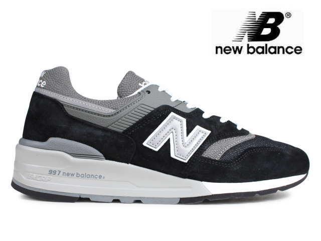 ニューバランス 997 ブラック new balance メンズ M997 BK made in USA men's sneaker newbalance メンズ スニーカー【店頭受取対応商品】