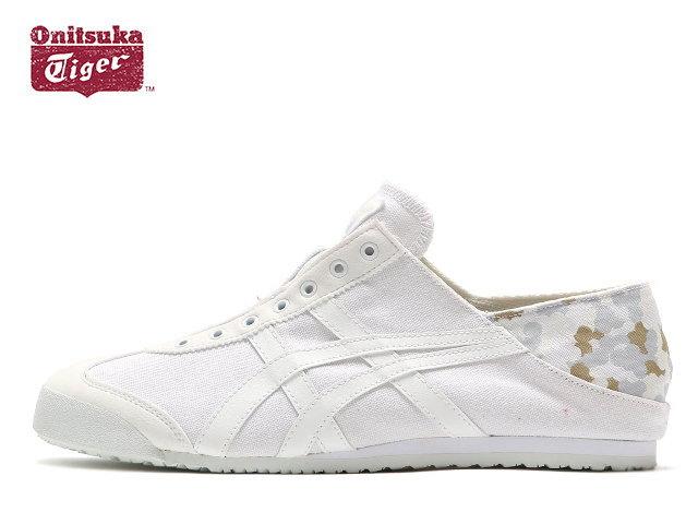 08afb2989724 オニツカタイガーメキシコスリッポンスニーカーメンズレディースパラティ Onitsuka Tiger MEXICO PARATY 0101 WHITE CAMO  sneaker