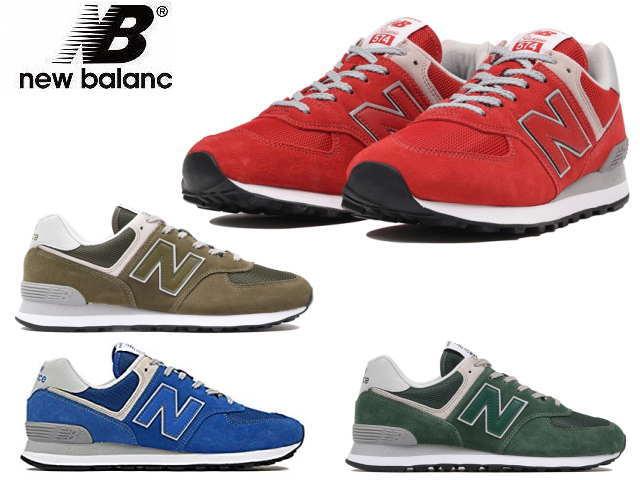 new concept 2a442 d598c New balance 574 black ladies men's ML574 KWS newbalance sneakers new  balance new balance new balance