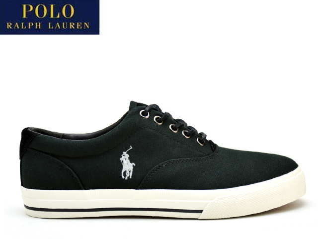 c1a1ab1f Polo Ralph Lauren sneakers men Vaughn POLO RALPH LAUREN VAUGHN POLO BLACK  816641827001 SNEAKER