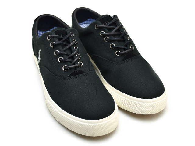 Lauren Men Black 816641827001 Ralph Vaughn Polo Sneaker Sneakers cAjq54RL3