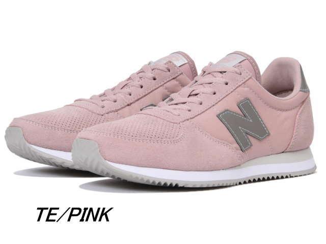 ef91000783 New Balance 220 Lady's pink white black gray WL220 TA TD TE TG new balance  newbalance