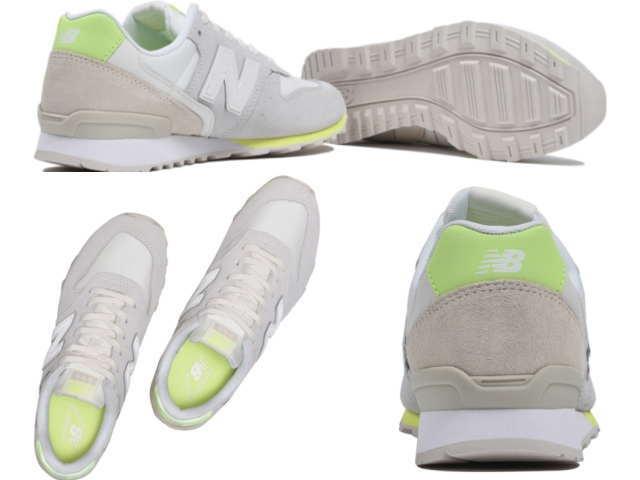 5b57992c New Balance 996 Lady's white new balance WR996 STS WHITE/LIME LADIES Lady's  sneakers newbalance