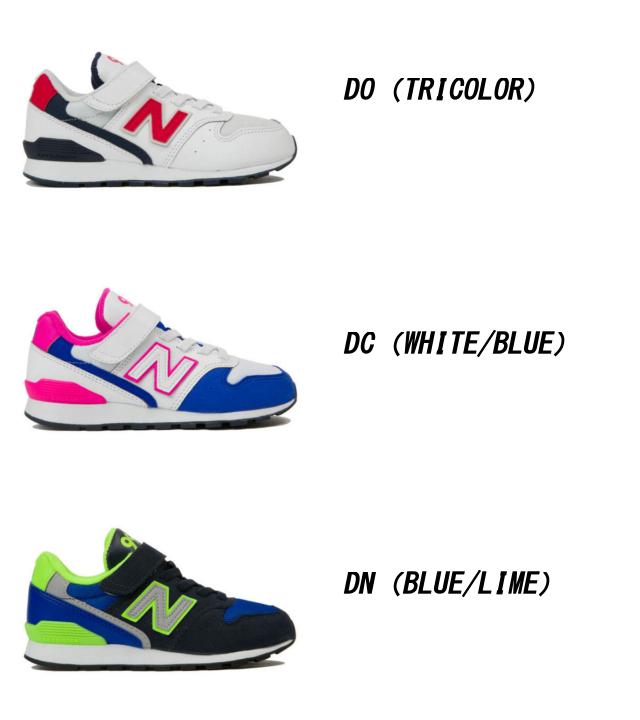 New Balance 996 YV996 baby kids Jr. white blue pink green black pastel DO DC DN PPK PLU PMN child shoes sneakers child shoes kids baby