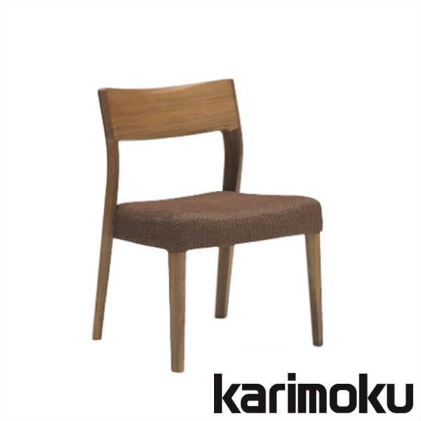カリモク 食堂椅子 合成皮革 CU6115