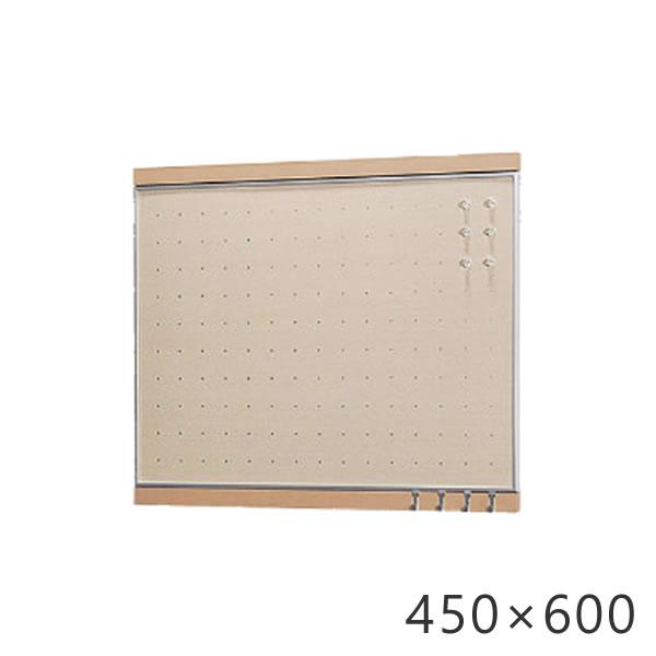 フック付マグネットボード 450×600mm ウッディボード パンチングボード 木製 スケジュール管理 予定 写真 メモ マグネット 磁石 ボード メモボード 壁掛けボード パネル 伝言 掲示板 メッセージボード マグボード  収納