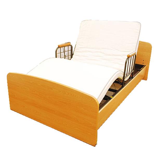 電動ベッド 1モーター 【 電動1モーターベッド ケア1 LT-1001H1 114×203cm 】 リクライニング 介護ベッド 在宅介護 寝具 ベッド 電動ベッド