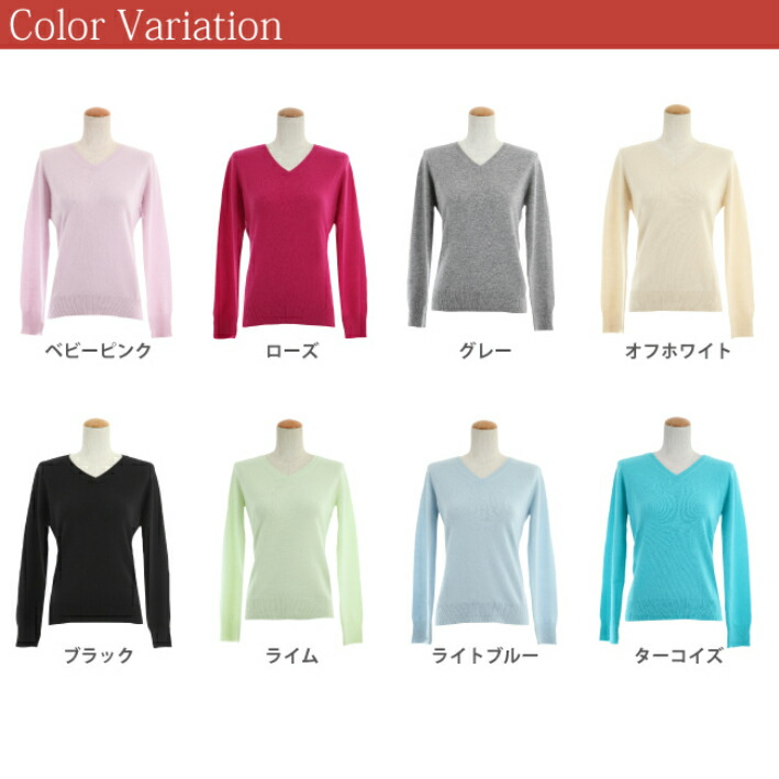 Factory direct! Cashmere 100% V neck sweater
