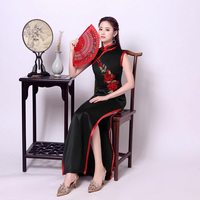 チャイナ服 中華ドレス コスプレ衣装 古典楽器演出ドレス 穏やかな中華服 在庫処分 チャイナワンピース 成人式 結婚式二次会 ドレス 中国伝統の雰囲気 新色追加して再販 丈夫で通気性が良い デザイン ロング チャイナドレス 大きいサイズ 上品でシンプル セクシー