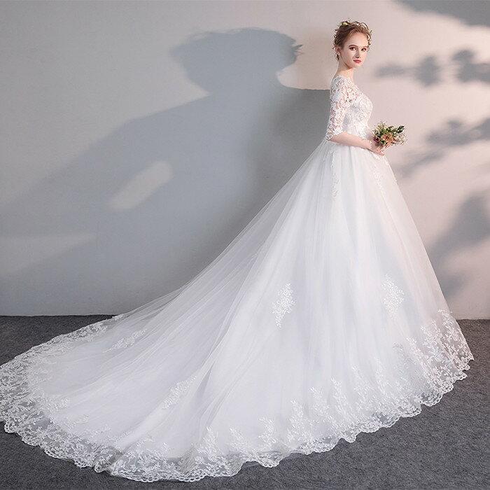 ウエディングドレス マタニティドレス オーダー 二次会 訳あり 大きいサイズ ウェディグドレス 花嫁 激安特価品 結婚式 海外挙式 カジュアル 白 ブライダ トレーンドレス
