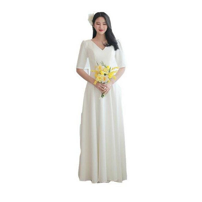 ウエディングドレス オーダー メーカー再生品 二次会 aラインドレス ワンピース 海外挙式 結婚式 人気商品 ドレス パーティドレス 花嫁 清楚で上品な リゾートウエディングドレス