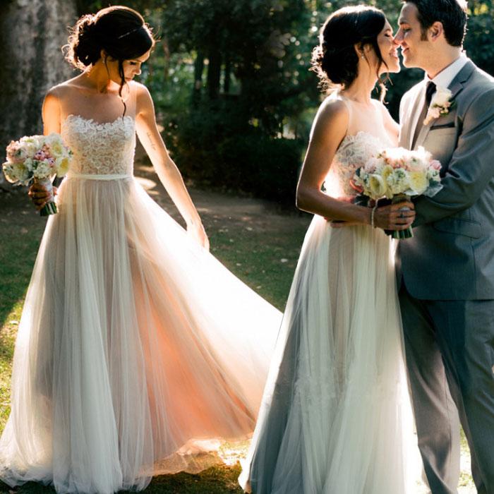 ウェディングドレス 安心ビスチェ風 ロングドレス 海外ウエディング 発表会 XS~XXXL 大きいサイズ 小さいサイズ 結婚式/パーティー/二次会